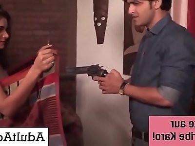 Police Sex with Hot Desi Indian Savita Bhabhi MILF