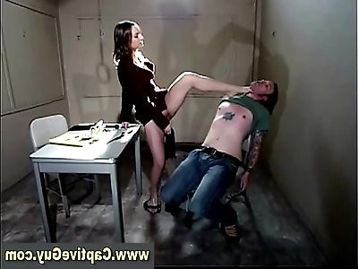 Hot femdom bitch gets off
