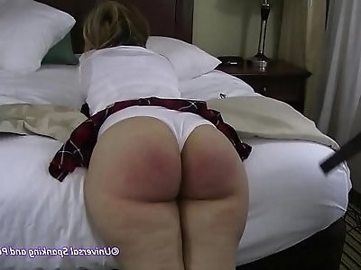 Please Dont Spank Me A College Punishment wLynn Casey HD
