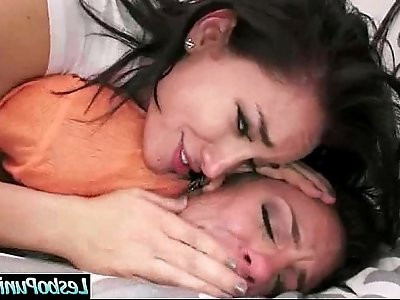 Hot And Mean Lesbos In Punishment Sex Tape