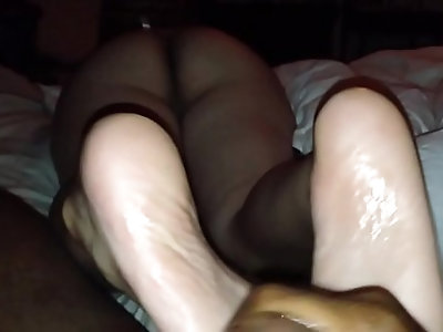 Her first foot job