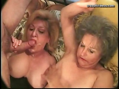 My g ma gets her pussy fucked by my friend