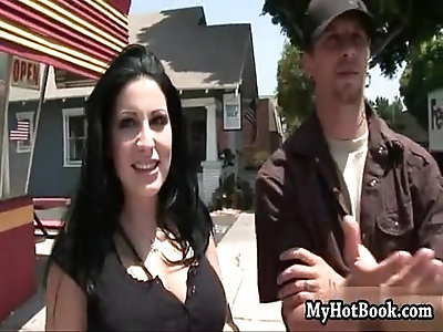 Milf seeker priscilla sin meets a couple horny dudes out