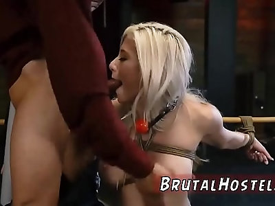 Girl bondage and hot punished Everything is going great until she