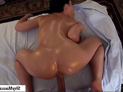 Shymassage Busty Rebecca Massage