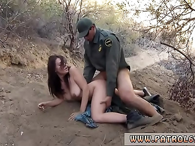 Police exam xxx Kayla West was caught lusty patrool during border