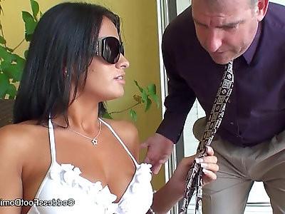 Girlfriends hot daughter
