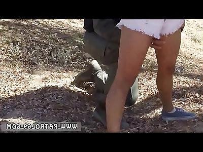 Police man fucks friends daughter Border Jumper Puts Out Big Time!