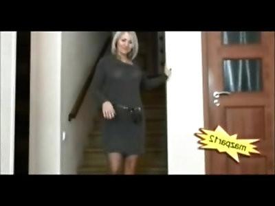 Horny Housewife teasing her Husband