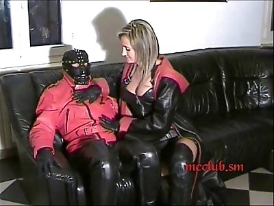 Couple Leather Fetish