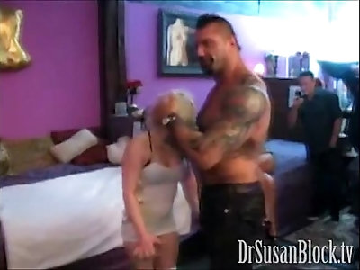 Tasia gets batista bombed by wwe star sexy wrestling