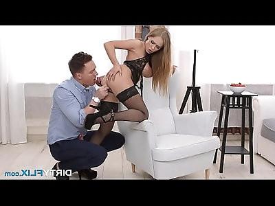 Dirty Flix Hard anal for sexy courtesan Katarina Muti