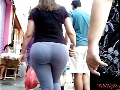 Candid Booty Culo Bunda Rabuda Suplex Legg Spandex Lycra voyeur pawg