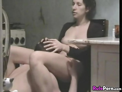 Amazing Girl Masturbates On Chair And Gets Fucked From Behind By Her Bf