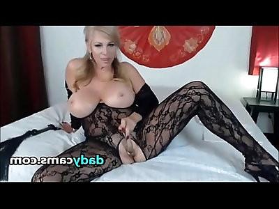 Big Tit Gorgeous Milf Sexy Black Lingerie
