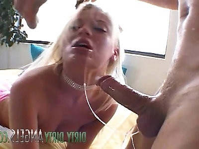 British Blonde milf Slut Holly Wellin Takes It In Both Of Her Holes