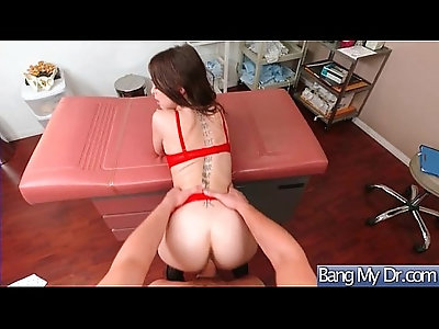 Hot Sexy Patient Riley Reid Get Horny And Bang Hard doggy Style With dirty mind Doctor