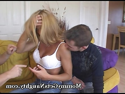 Hot Mommy Is A Naughty One