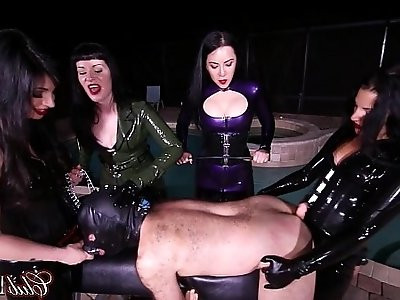 Foot Slave Gets Ass Fucked After Licking Feet