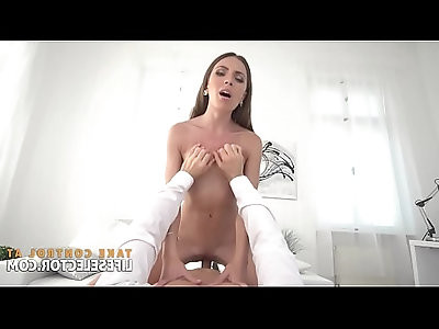 Veronica Clark Beautiful blonde Babe in stockings Gets ASSFUCKED